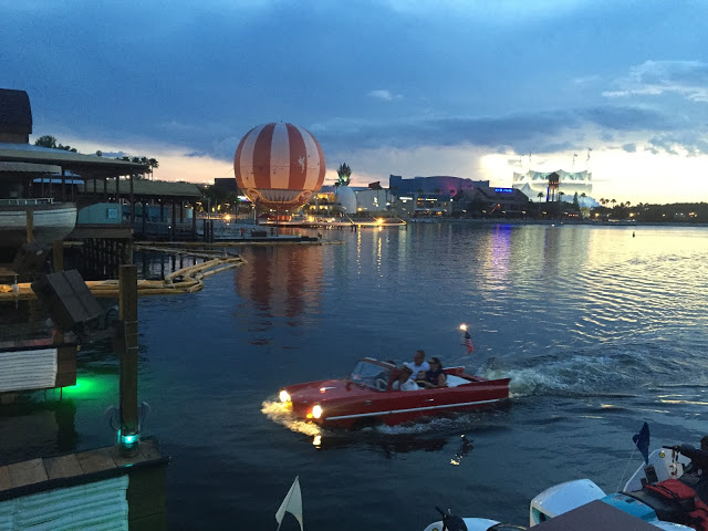 Image result for disney springs pictures amphicars
